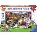 Ravensburger 2 Puzzles - 44 Cats