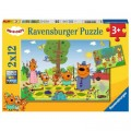 Ravensburger 2 Puzzles - Kid e Cats