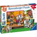 Ravensburger 3 Puzzles - 44 Cats