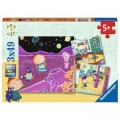Ravensburger 3 Puzzles - Peg + Cat