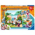 Ravensburger 3 Puzzles - Top Wing